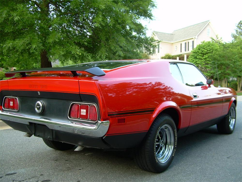 Ford Dealership Las Vegas >> 1971 FORD MUSTANG BOSS 351 FASTBACK - 65921