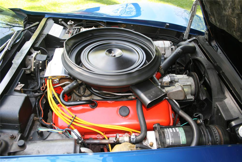 1973 CHEVROLET CORVETTE T-TOP - Engine - 65924