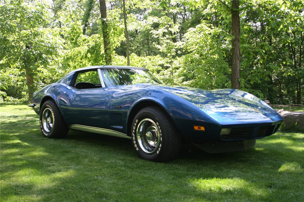 1973 CHEVROLET CORVETTE T-TOP - Front 3/4 - 65924