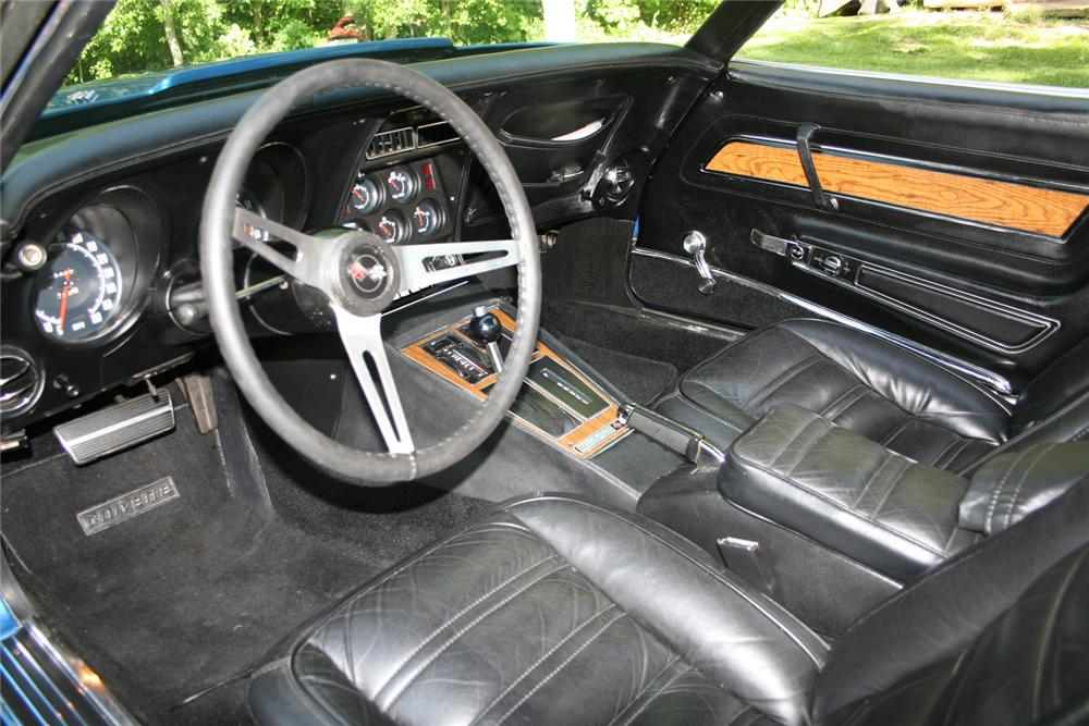 1973 CHEVROLET CORVETTE T-TOP - Interior - 65924