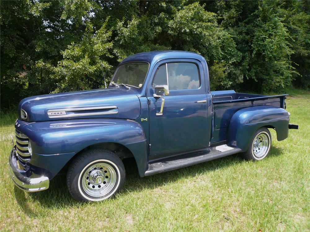 1949 FORD F-1 PICKUP - Front 3/4 - 65943