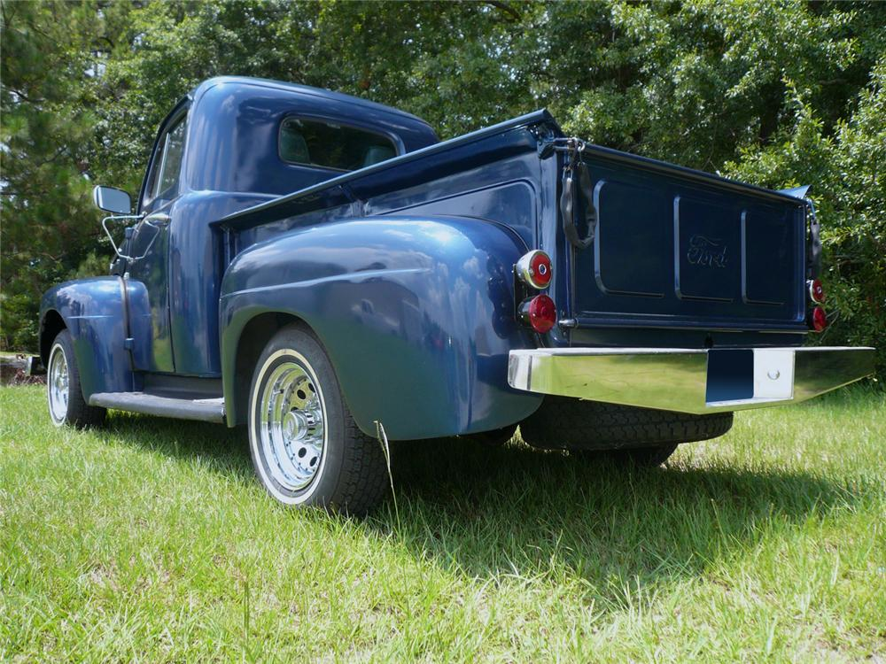 1949 FORD F-1 PICKUP - Rear 3/4 - 65943