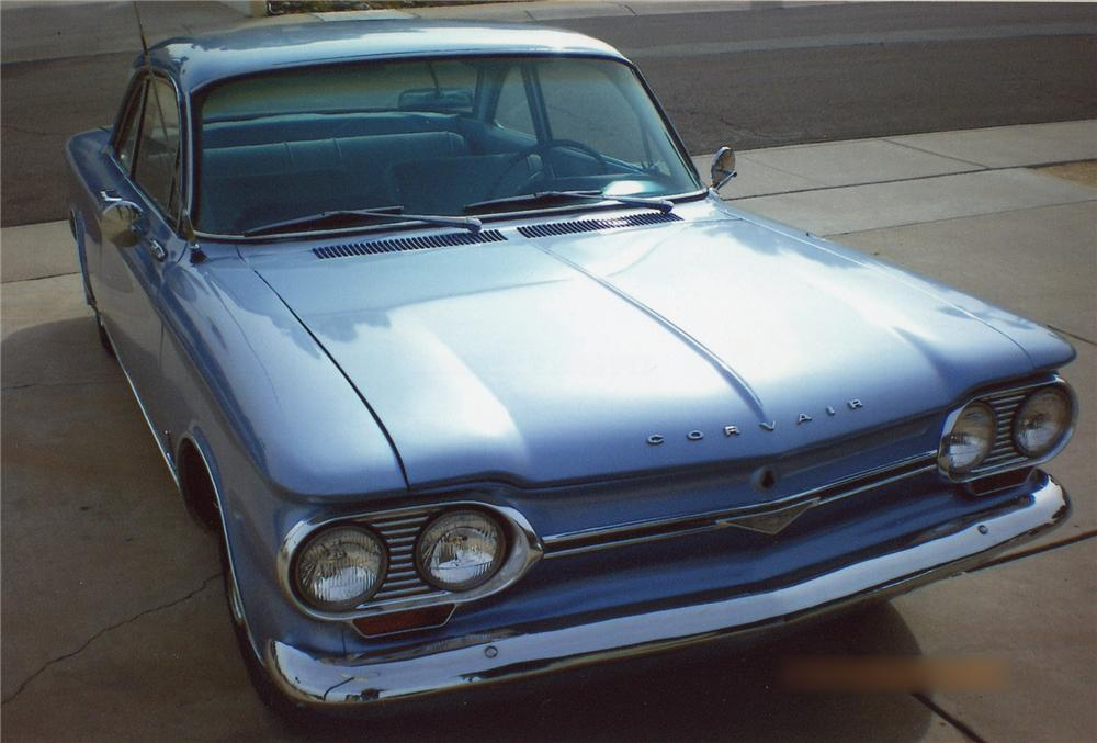 1964 CHEVROLET CORVAIR MONZA 2 DOOR SEDAN - Front 3/4 - 65952