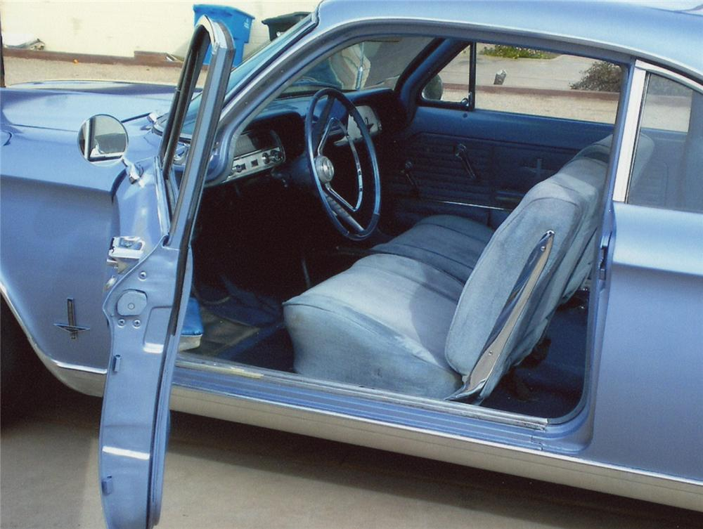 1964 CHEVROLET CORVAIR MONZA 2 DOOR SEDAN - Interior - 65952