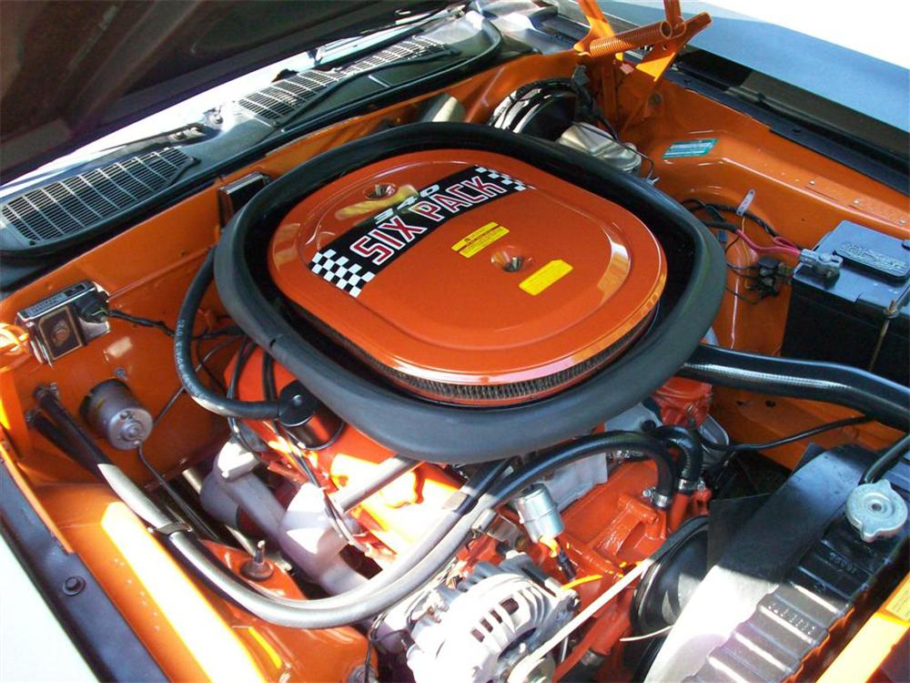 1970 PLYMOUTH CUDA AAR 2 DOOR COUPE - Engine - 65961