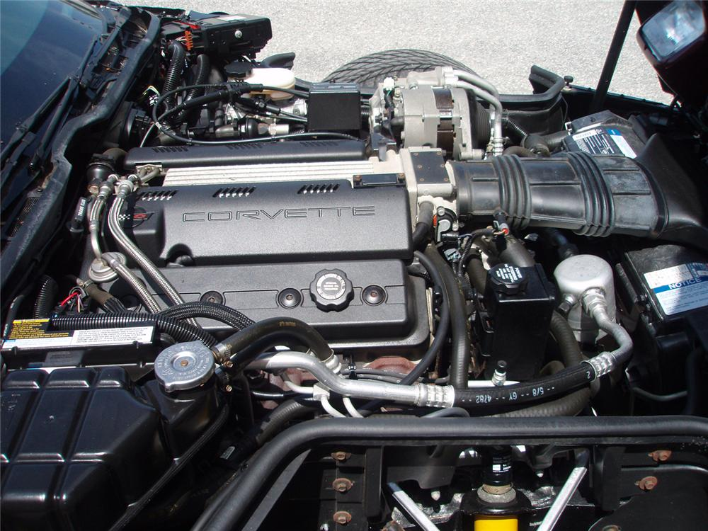 1993 CHEVROLET CORVETTE CONVERTIBLE - Engine - 65964