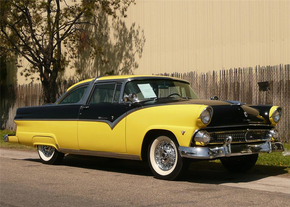 1955 ford crown victoria coupe front 3 4 65967. Cars Review. Best American Auto & Cars Review