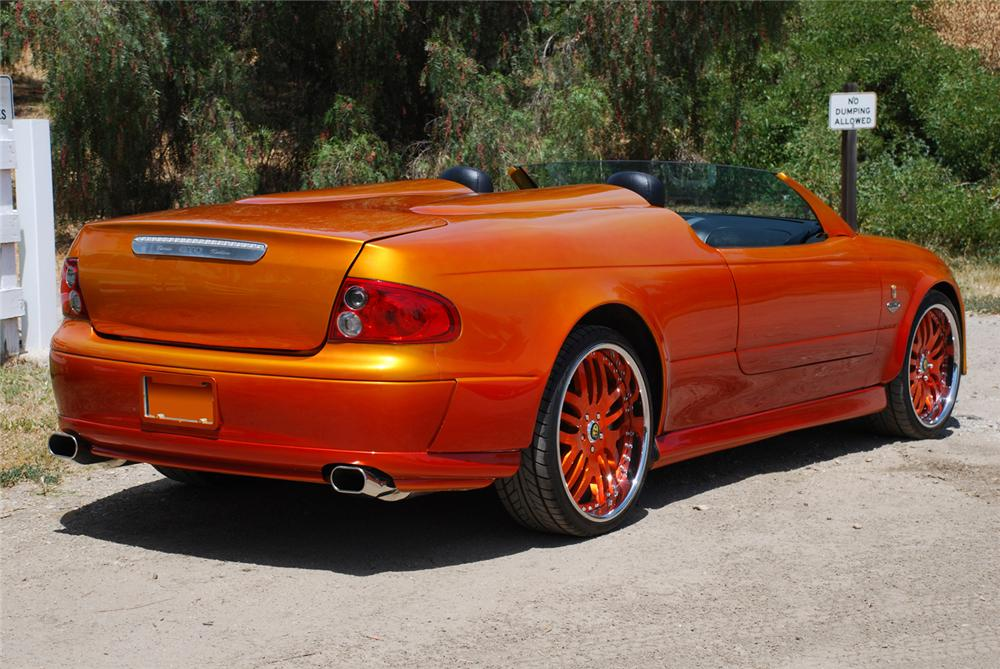 2004 PONTIAC GTO CUSTOM ROADSTER - Rear 3/4 - 65984