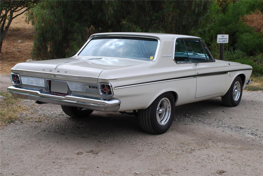 Clean Cars And Credit >> 1963 PLYMOUTH FURY 2 DOOR HARDTOP - 65988