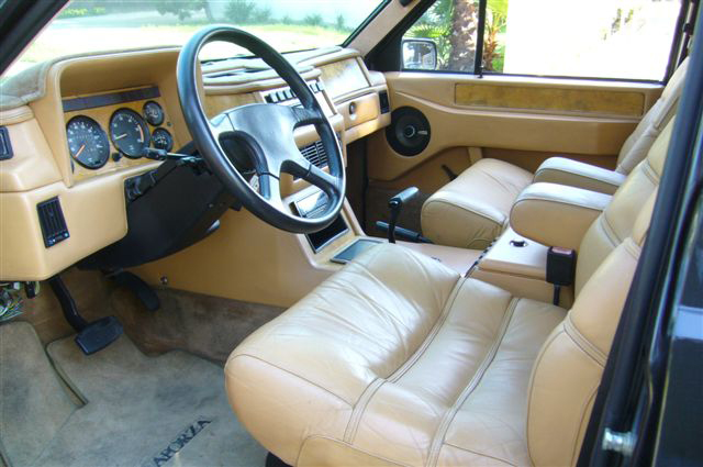 1989 LAFORZA 4 DOOR SUV - Interior - 65990