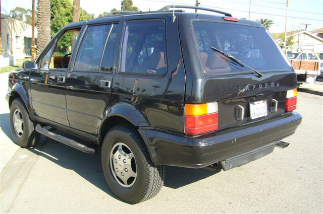 1989 LAFORZA 4 DOOR SUV - Rear 3/4 - 65990