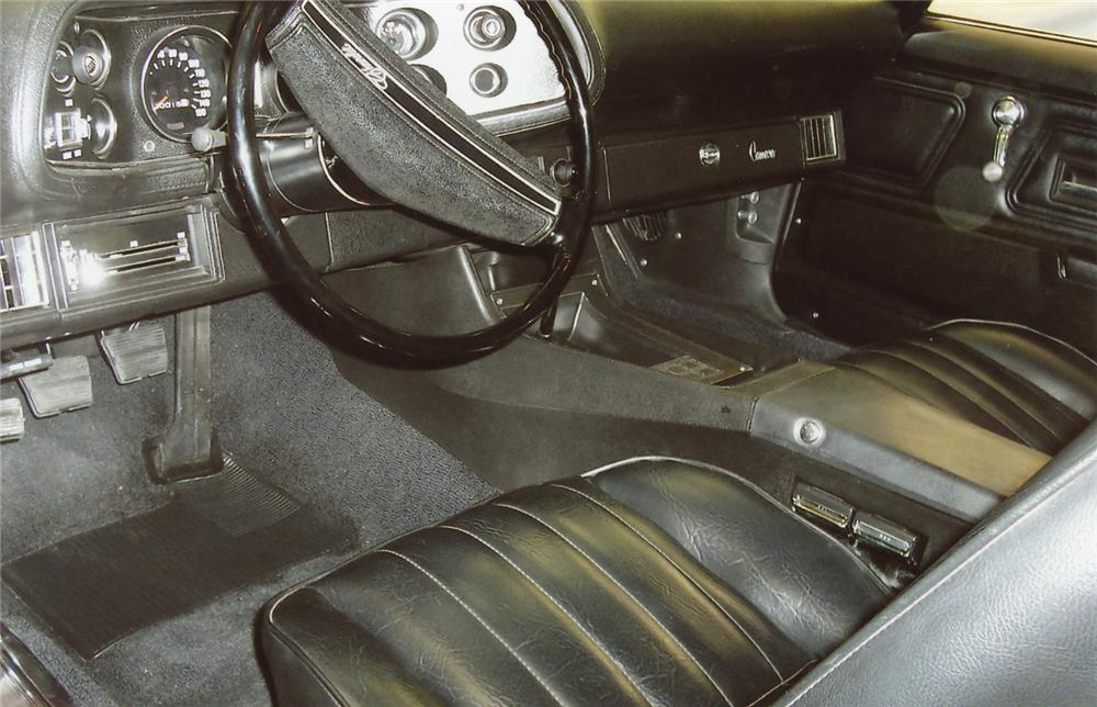 1971 CHEVROLET CAMARO Z/28 2 DOOR COUPE - Interior - 65992