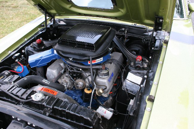 1970 FORD MUSTANG BOSS 302 FASTBACK - Engine - 66001
