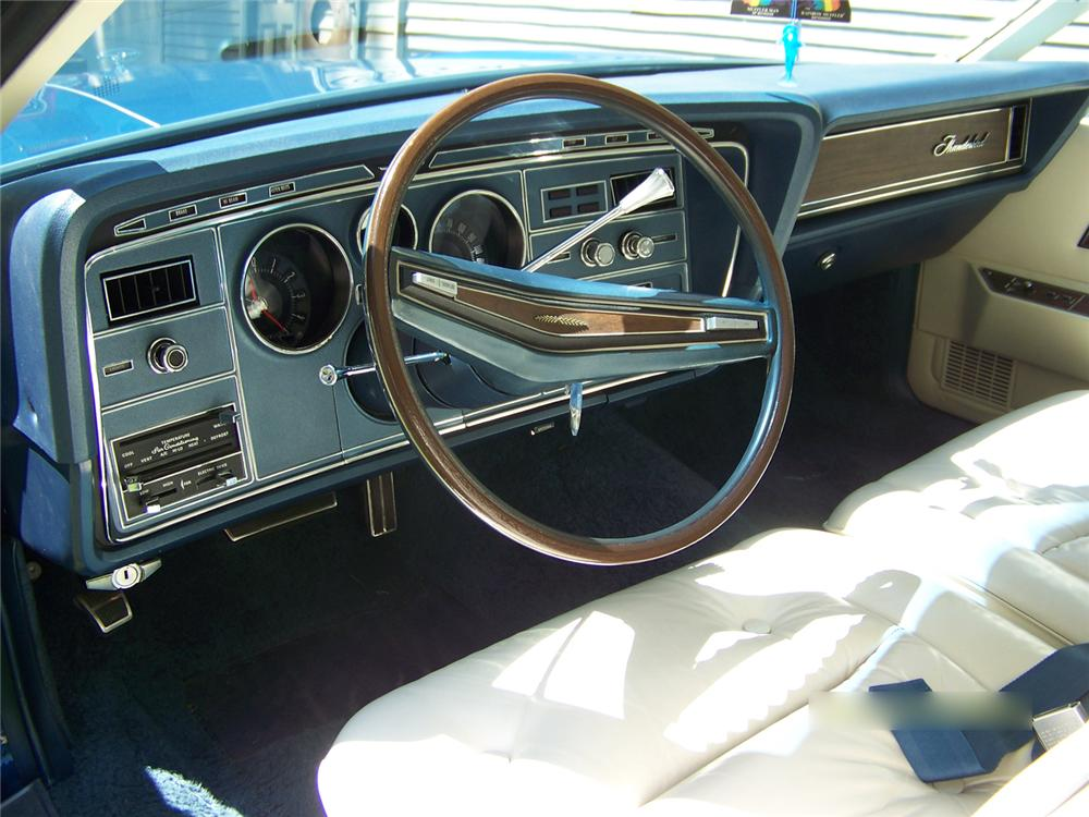 1974 FORD THUNDERBIRD 2 DOOR HARDTOP - Interior - 66006