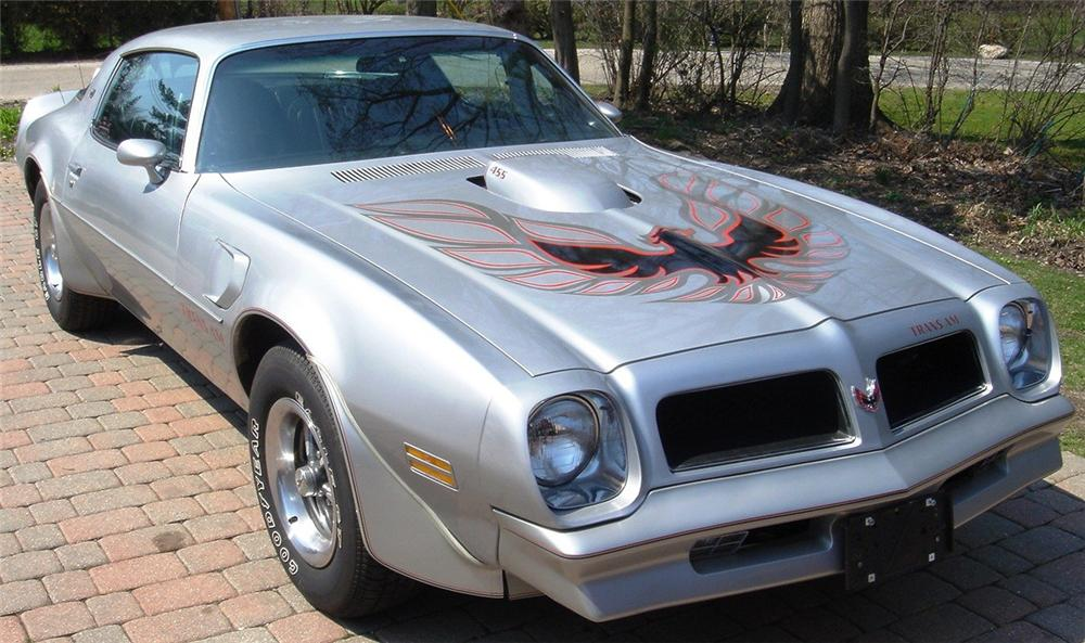 1976 PONTIAC FIREBIRD TRANS AM 2 DOOR COUPE - Front 3/4 - 66011
