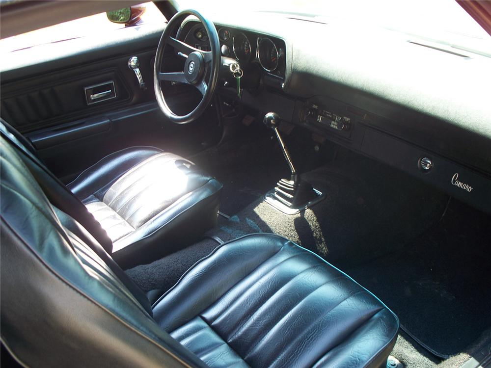1971 CHEVROLET CAMARO Z/28 COUPE - Interior - 66018