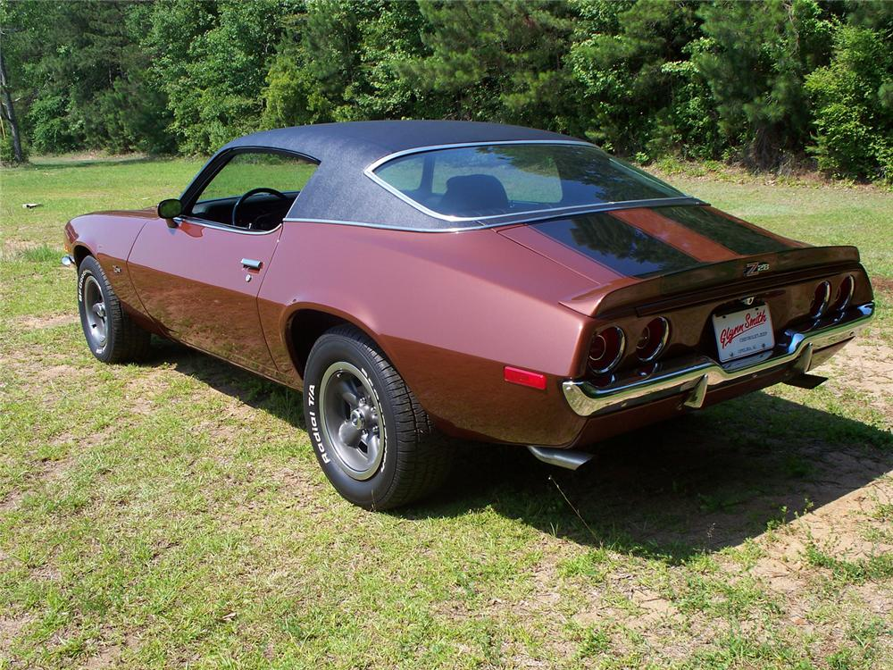 1971 CHEVROLET CAMARO Z/28 COUPE - Rear 3/4 - 66018