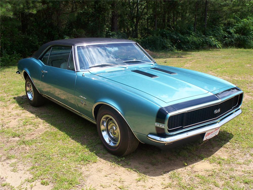 1967 CHEVROLET CAMARO RS/SS COUPE - Front 3/4 - 66022
