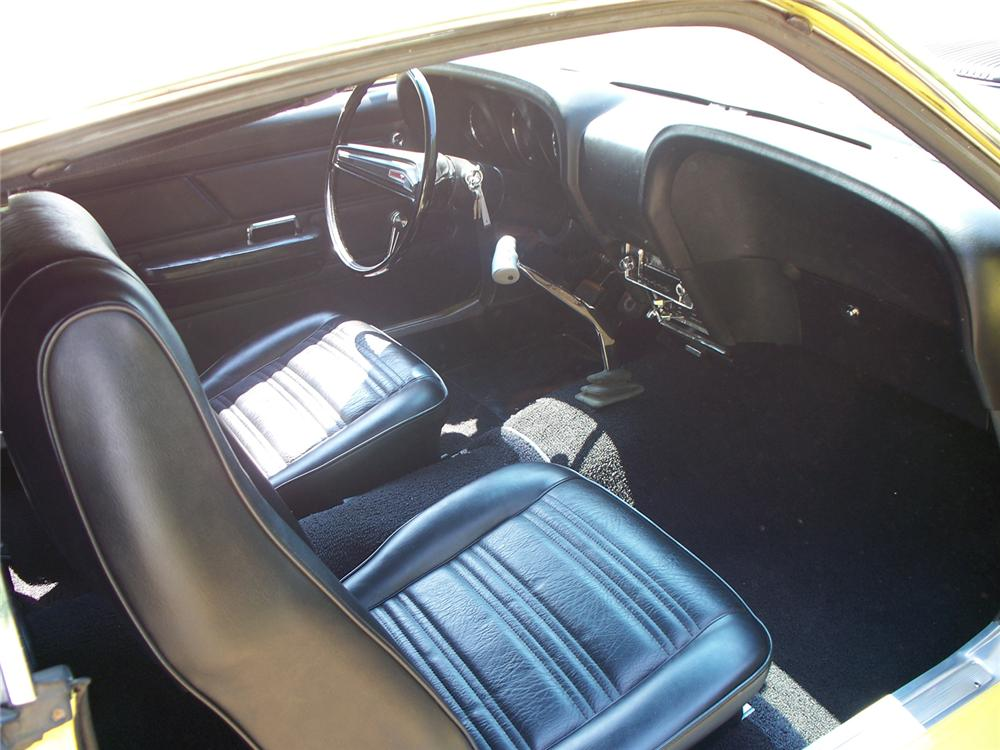 1970 FORD MUSTANG BOSS 302 FASTBACK - Interior - 66023