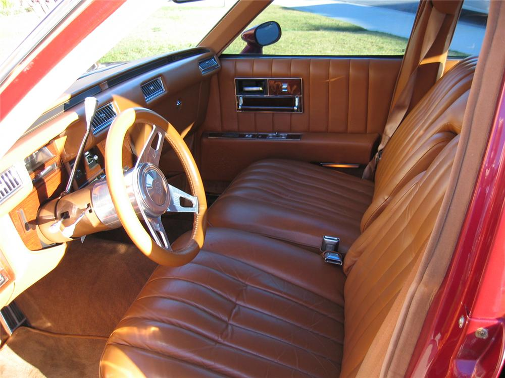 1979 CADILLAC SEVILLE CUSTOM 4 DOOR SEDAN - Interior - 66029