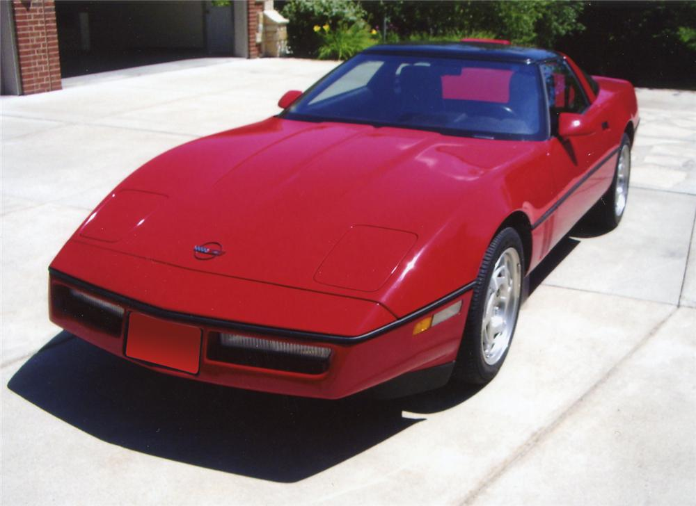 1990 CHEVROLET CORVETTE ZR1 COUPE - Front 3/4 - 66031