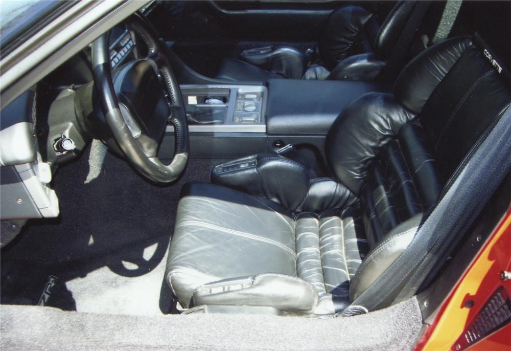 1990 CHEVROLET CORVETTE ZR1 COUPE - Interior - 66031