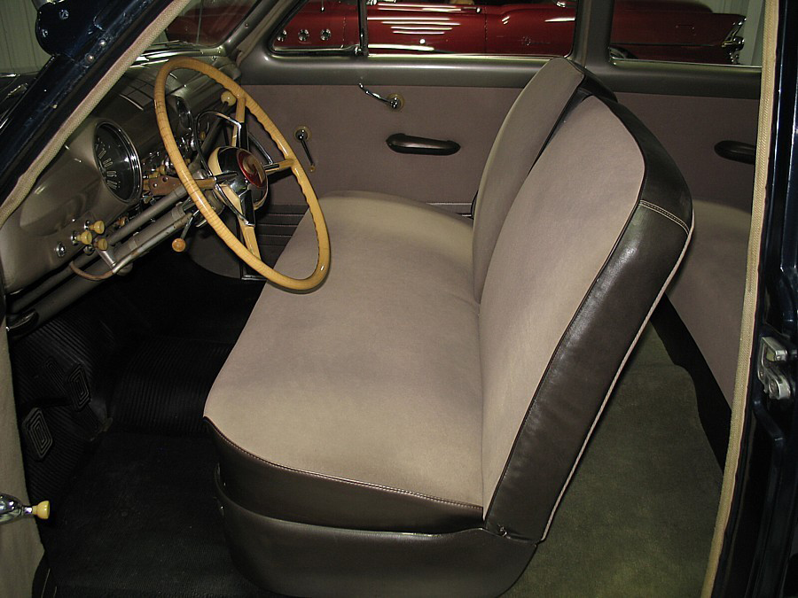 1950 FORD DELUXE 2 DOOR SEDAN - Interior - 66033