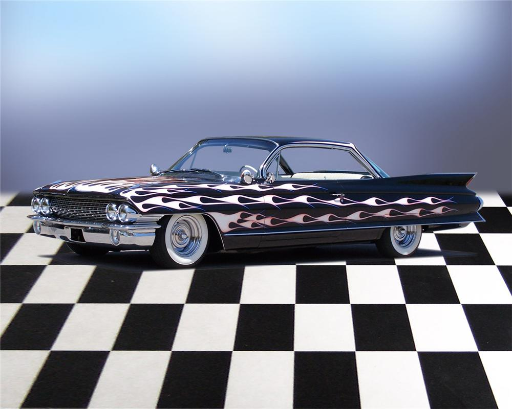 1961 CADILLAC SERIES 62 CUSTOM COUPE - Front 3/4 - 66035