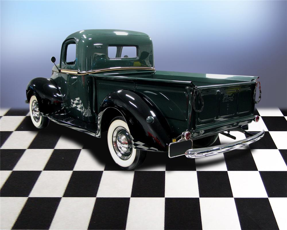 1940 FORD PICKUP - Rear 3/4 - 66036