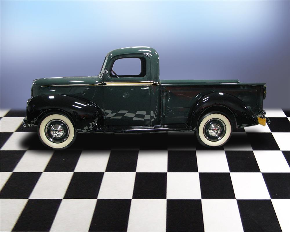 1940 FORD PICKUP - Side Profile - 66036