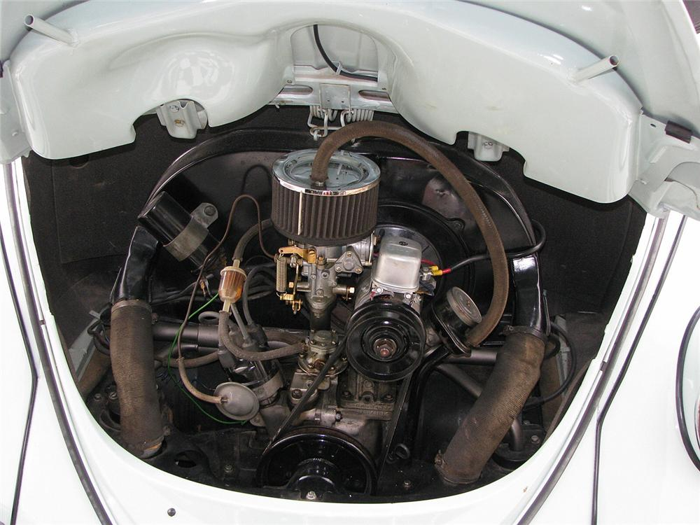 1965 VOLKSWAGEN BEETLE CONVERTIBLE - Engine - 66038