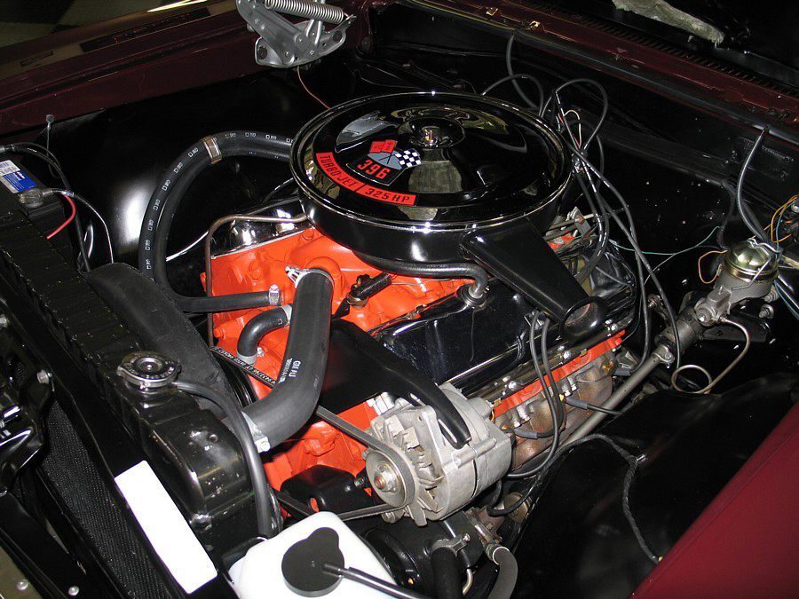 1966 CHEVROLET CHEVELLE SS 396 2 DOOR COUPE - Engine - 66039