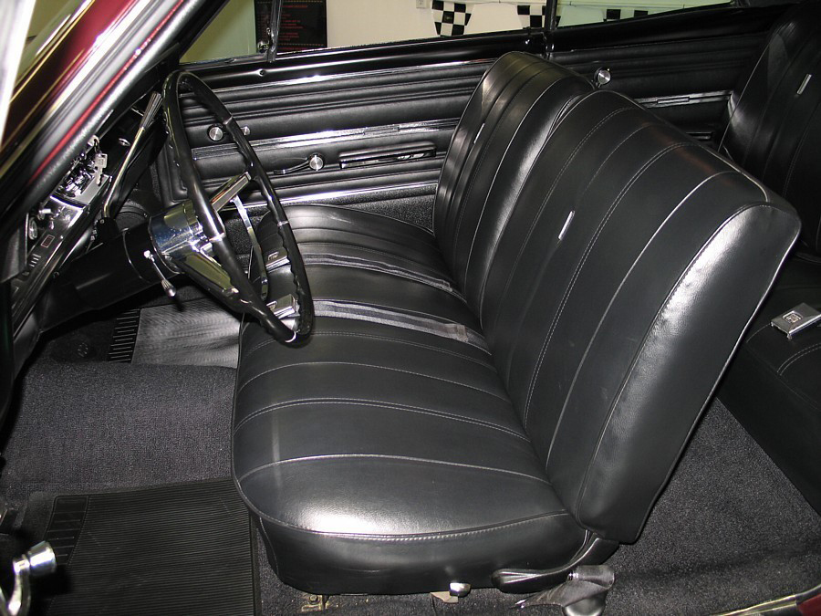 1966 CHEVROLET CHEVELLE SS 396 2 DOOR COUPE - Interior - 66039