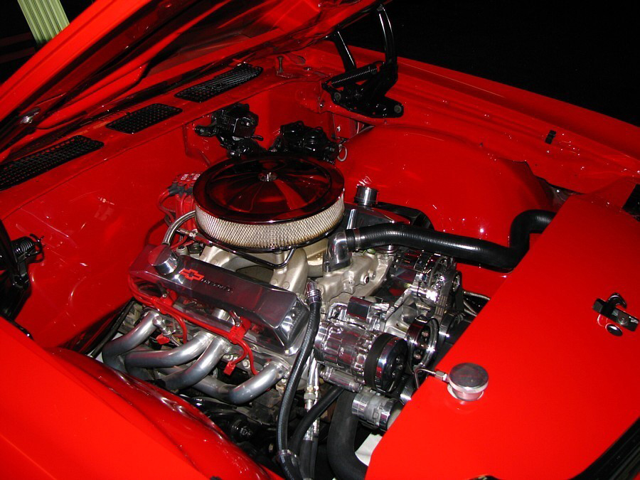 1972 CHEVROLET CHEVELLE MALIBU PRO-TOURING COUPE - Engine - 66041
