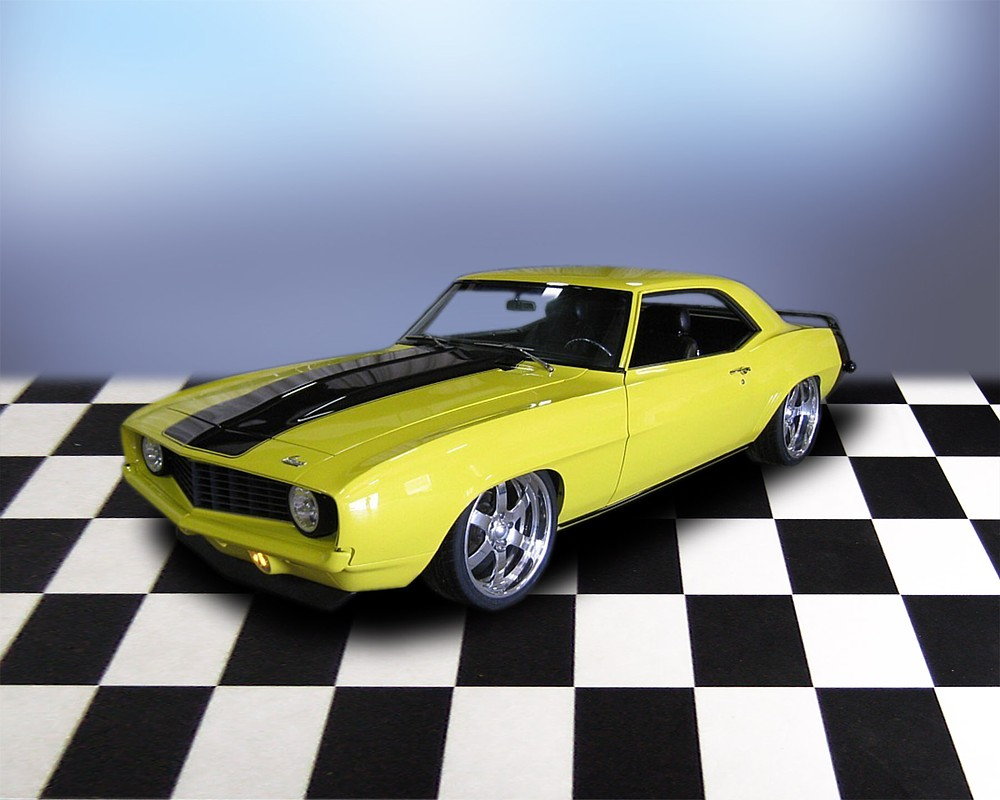 1969 CHEVROLET CAMARO PRO-TOURING COUPE - Front 3/4 - 66043