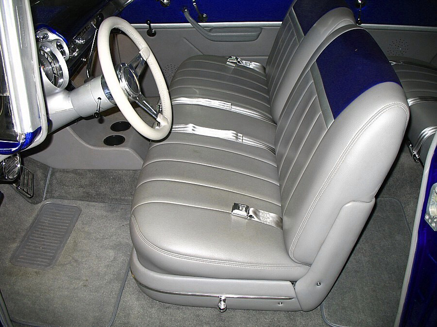 1957 CHEVROLET 210 PRO-TOURING 2 DOOR WAGON - Interior - 66044