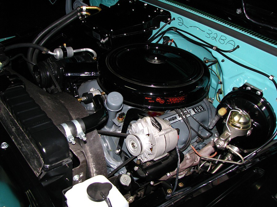 1965 CHEVROLET C-10 SHORTBED PICKUP - Engine - 66047