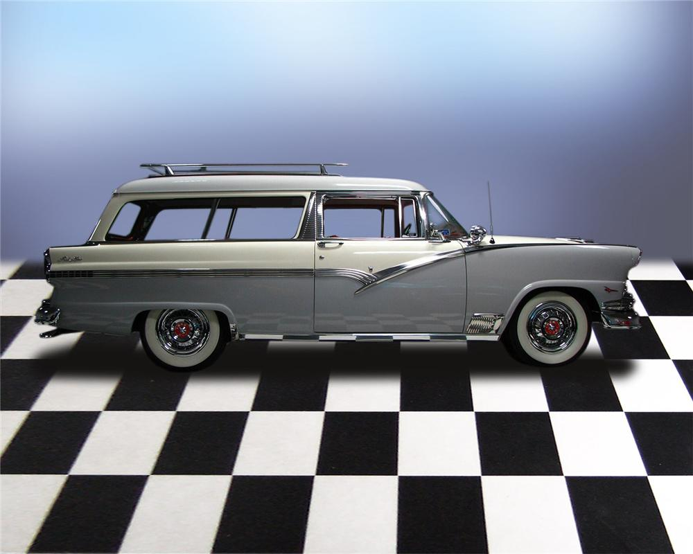 1956 ford parklane 2 door station wagon 66051 for 1956 ford 2 door wagon