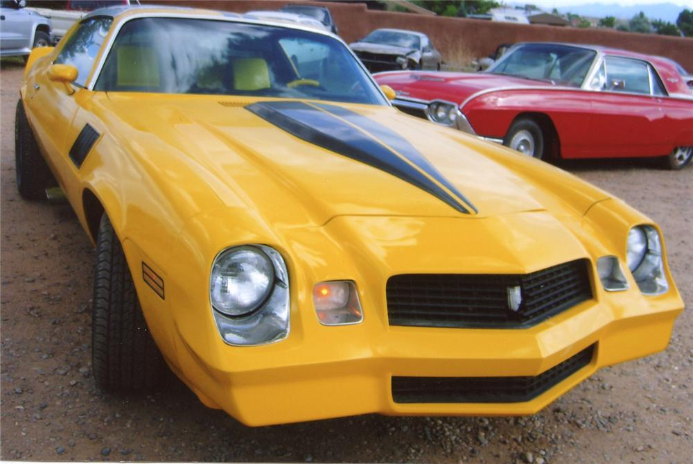 1979 CHEVROLET CAMARO COUPE - Front 3/4 - 66059