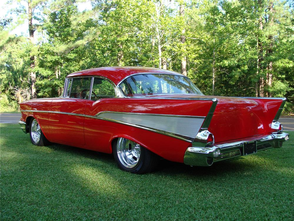 Bel Air Auto Auction >> 1957 CHEVROLET BEL AIR CUSTOM 2 DOOR HARDTOP 'CHUBSTER' - 66060