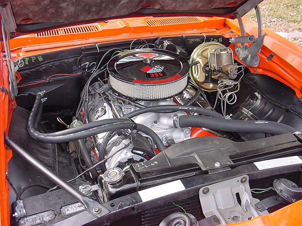 1969 CHEVROLET CAMARO SS COUPE - Engine - 66061