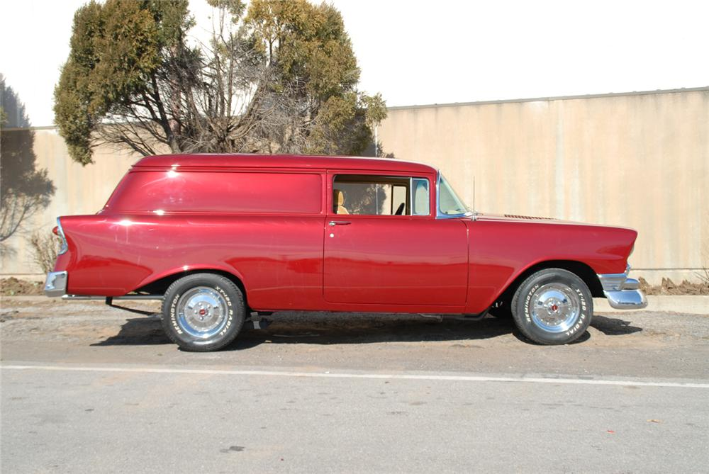 1956 CHEVROLET SEDAN DELIVERY CUSTOM WAGON - Side Profile - 66065