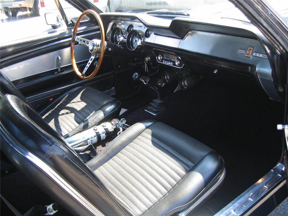 1967 SHELBY GT500 2 DOOR FASTBACK - Interior - 66069
