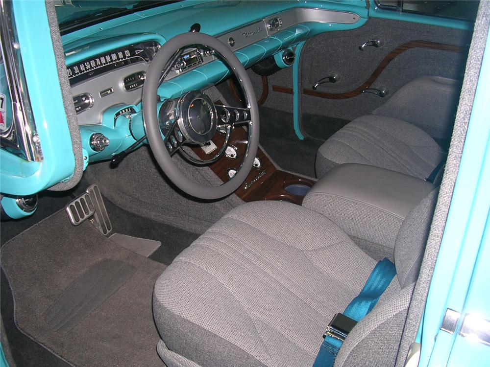 1958 CHEVROLET NOMAD CUSTOM STATION WAGON - Interior - 66070