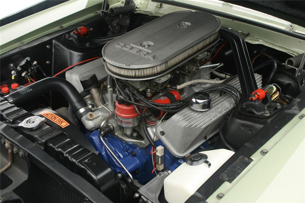 1967 FORD MUSTANG CUSTOM FASTBACK - Engine - 66073