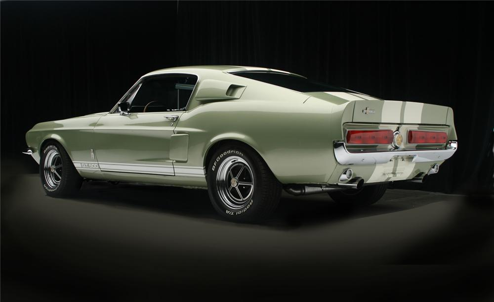 1967 FORD MUSTANG CUSTOM FASTBACK - Rear 3/4 - 66073