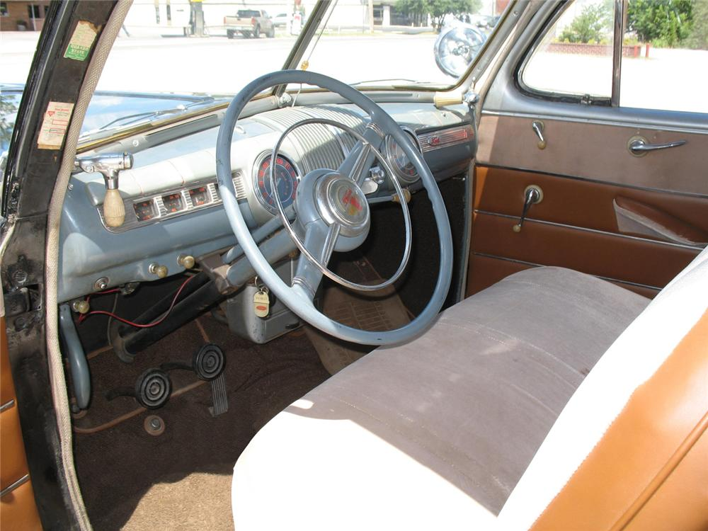 1946 FORD SUPER DELUXE COUPE - Interior - 66076