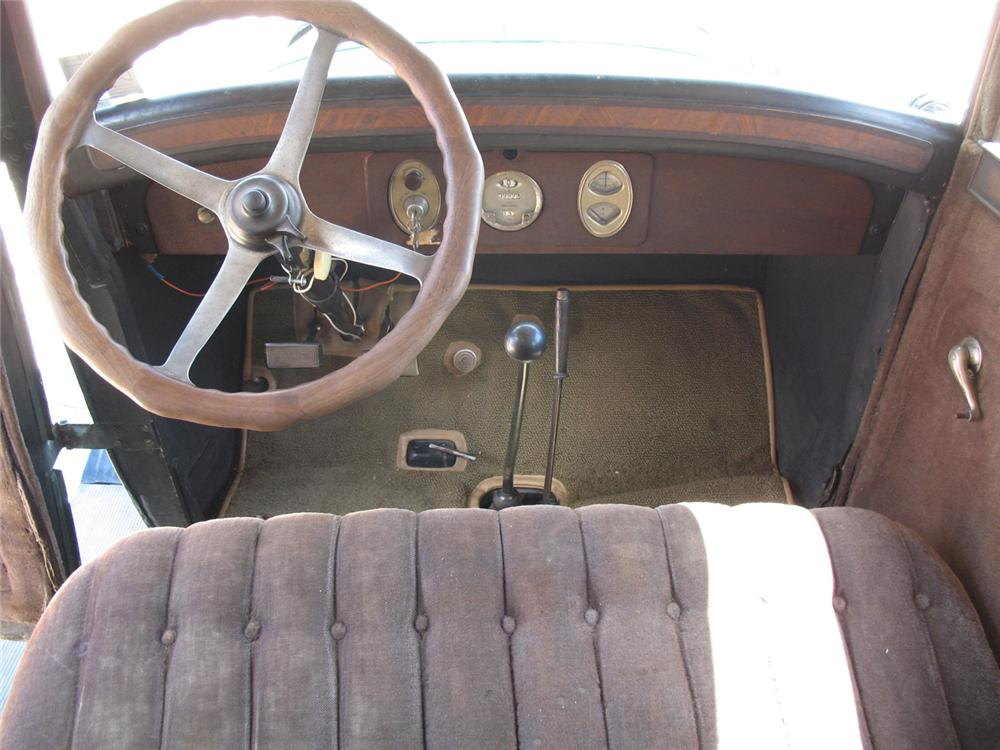 1927 CHANDLER STANDARD 6 4 DOOR SEDAN - Interior - 66077