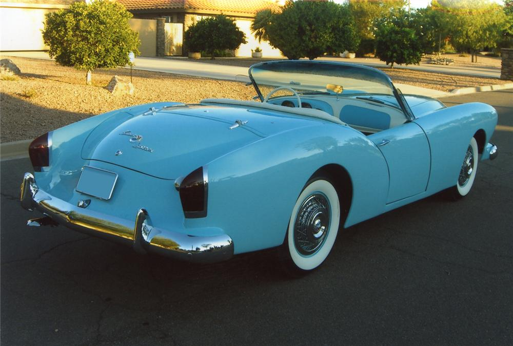 1954 KAISER DARRIN ROADSTER - Rear 3/4 - 66094