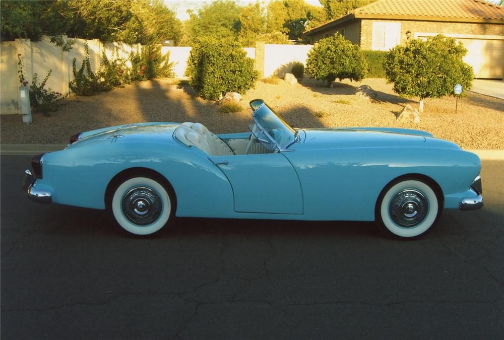 1954 KAISER DARRIN ROADSTER - Side Profile - 66094